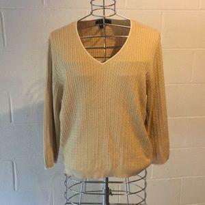 100% cotton Lauren sweater